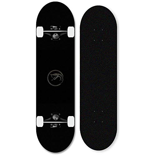 Komplette Skateboard 31x8 Zoll Doppelwippe mit ABEC-11 Kugellager Maple Skillboard Unisex Skateboard-Schlange_