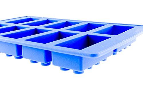 RuiChy Eiswürfelform Silikon blau