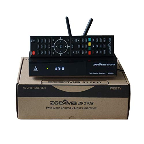 Decoder Zgemma H9 Twin Sat Multistream 2xDVB-S2X Wi-Fi 4K UHD 8GB flash