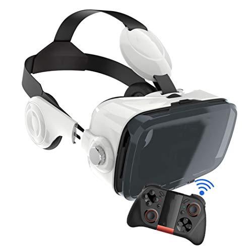 """Casque VR, VR Casque de Réalité Virtuelle, Smartphone pour 4.7""""- 6.5"""" Android and iOS pour iPhone 11 Pro/iPhone XS Max/iPhone 8/8Plus/7/7Plus, 3D VR Lunettes pour Jeux et Films. O172XB"""