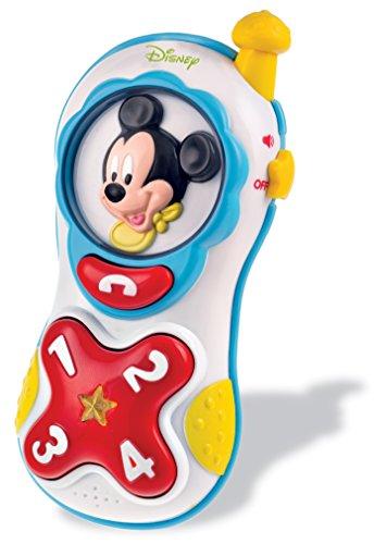 Clementoni - 14864.6 - Téléphone lumière et sons de Mickey
