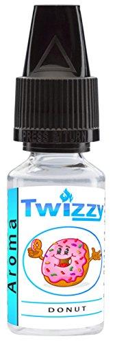 10ml Twizzy Donut Aroma | Aroma für Shakes, Backen, Cocktails, Eis | Aroma für Dampf Liquid und E-Shishas | Flav Drops | Ohne Nikotin 0,0mg
