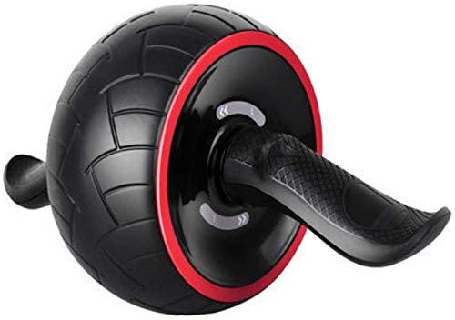 Outils fitness roue AB Roue rouleau Ab avec poignée ergonomique et angles multiples Roue d'exercice abdominale avec barres levage Corà sauter réglable et genouillère pour entraînement force à la mai