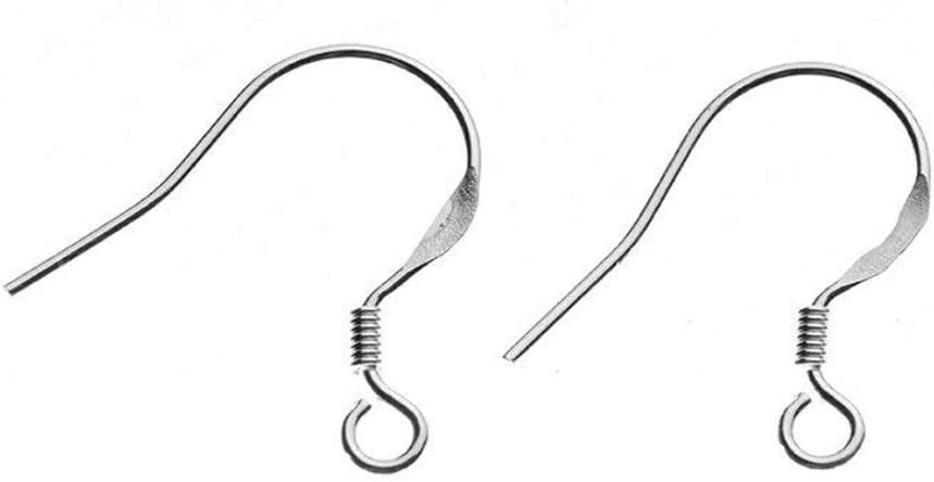 5 Pr Marquise Shaped Earring Hook Contemporary 26mm Sterling Silver Ear Wires Classic 20 Gauge Oakhill Silver Supply E230 Modern