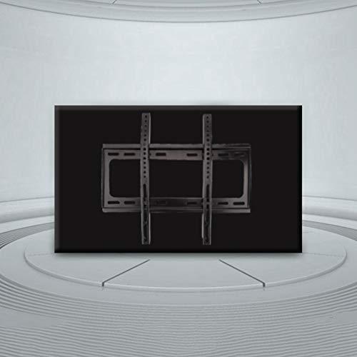 Wakects Soporte de Pared para TV,26-55 Pulgadas,Puede Inclinarse y Girarse,Capacidad de Carga Máx 30kg,para Pantalla LED/LCD/Plasma/Curva Televisión