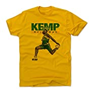 Officially Licensed Shawn Kemp Apparel Classic & Old School Seattle Basketball Sports Apparel Shawn Kemp apparel and accessories are custom and made-to-order! Proudly and Meticulously Printed in Austin, TX Custom Artwork: Passionately Designed by 500...