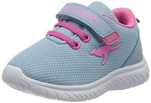 KangaROOS KI-Inlite EV, Sneakers Basses Garçon Mixte bébé, Bleu (Blue Sky/Daisy Pink 4262), 22 EU