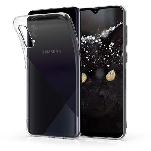kwmobile Hülle kompatibel mit Samsung Galaxy A30s - Hülle Handy - Handyhülle in Transparent