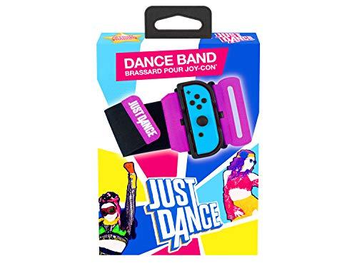 - Just Dance 2021 official - Dance Band - Brazalete para el controlador JoyCon, Correa elástica ajustable con ranura para el Joy-Cons nintendo Switch (Nintendo Switch)