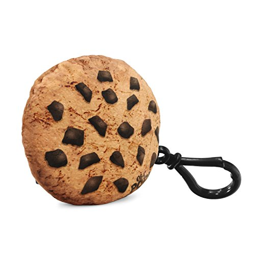 Oh My Pop Cookies-Pillow Keyring, 10 cm, Brown
