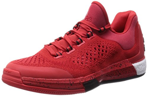 adidas Unisex 2015 Crazylight Boost Primekni Sneaker, Rot Weiß Schwarz, 52 2/3 EU
