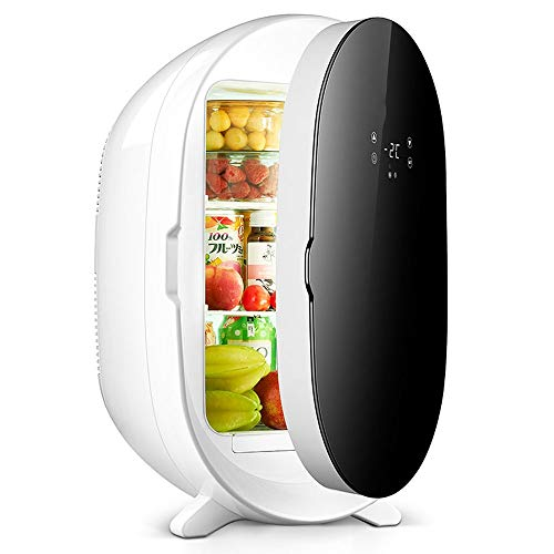 Mini Fridge,Car Fridge, Fridge Cooler and Warmer,20L Portable Round Cooling and Warming Box Electric Cooler, Temperature Range -2 ° C To 65 ° C, Mini Fridge for Picnic/Barbecue/Camping/Outdoor