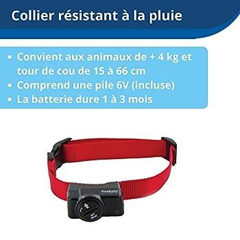 PetSafe - Système de Clôture Anti-fugue avec Fil pour Chien de plus 3,6 Kg – 4 niveaux de stimulations - Tous types de Jardin (jusqu'à 0.13 Hectares) - Imperméable - Facile à Installer
