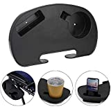 Zero Gravity Chair Cup Holder, Anti Gravity Folding Lounge Chair Utility Tray, Multifuncational Small Side Table with Double Slot for Phone iPad Drink Books Water Bottle Magazine