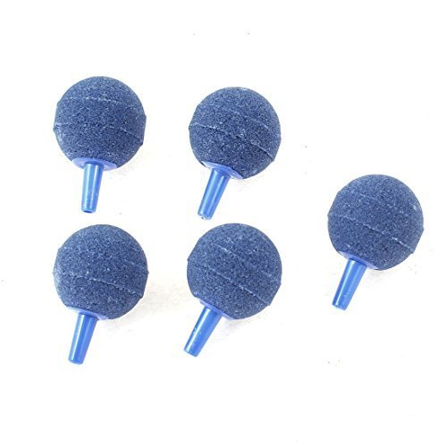 Soccik Aquarium Sauerstoff Pumpe Bubble Release Luftsteine Balls Diffusor Aquarium Blase Stein Für Aquarium Fisch Tank 5 Stück Blau