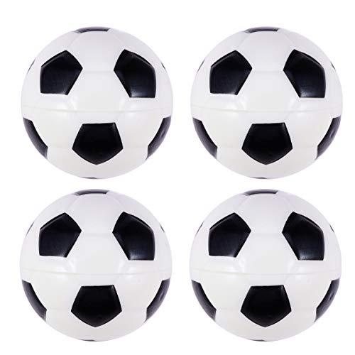 Pelotas de fútbol Amosfun de espuma para deportes, juguete para niños, juegos de fiesta y premios, 8 unidades