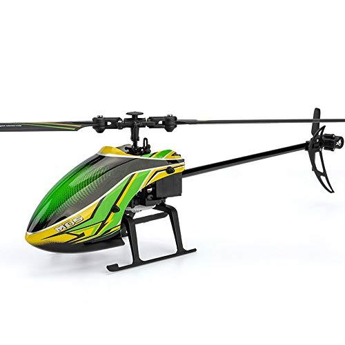 Weaston Aereo RC a elica Singola con giroscopio a 6 Assi Elicottero RC Elicottero remoto per Principianti all'aperto Aeroplano RC Professionale Giocattolo per Bambini per Adulti