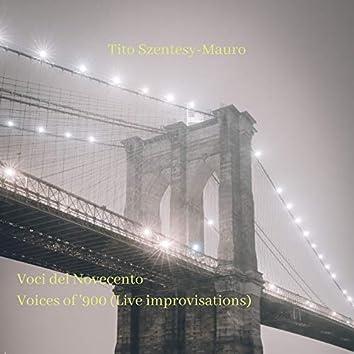 Voci del Novecento (Live Improvisations)