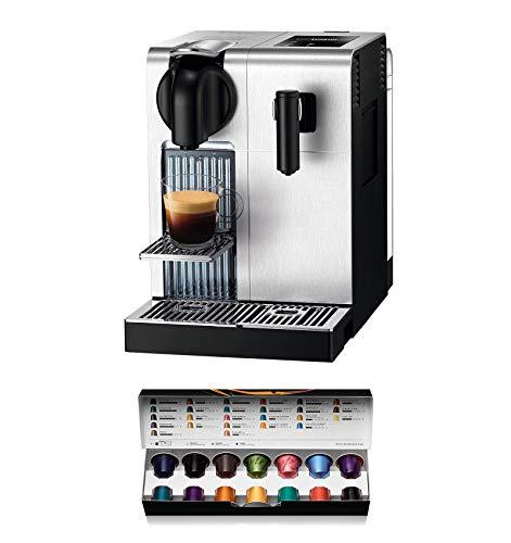 Nespresso DeLonghi Lattissima Pro EN 750MB-Cafetera de cápsulas, 19 bares, apagado automático,...