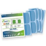 Gel Pad Refills for WiTouch Pro & Aleve Direct Therapy TENS Units - 1 Pack of 10 pads
