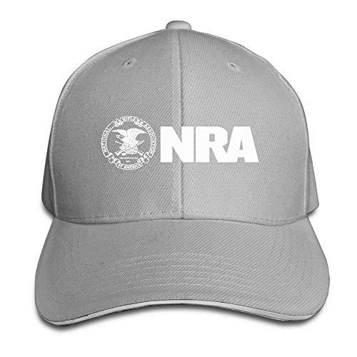 KL Decor National Rifle Association Adjustable Baseball Caps Vintage Sandwich Hat