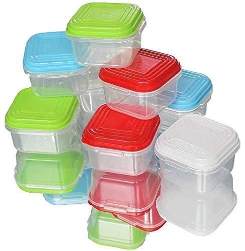 NEEZ Alimentation Bébé Boîtes de conservation, Pots de Conservation pour Bébé Le repas de, Babybol Lot de 8 (Pack of 8-120ml)