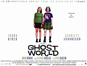 Pop Culture Graphics Ghost World Poster Movie 11x17 Thora Birch Scarlett Johansson Steve Buscemi Brad Renfro
