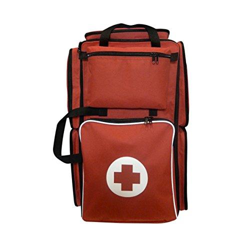 Botiquín Nylon Mochila de Emergencia profesional (EQUIPADO con 175 artículos como férulas,...