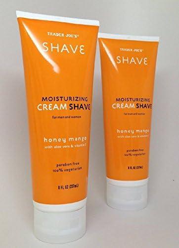 Popular product 2 Pack Max 63% OFF Trader Joe's Honey Shave with Cream Moisturizing Mango