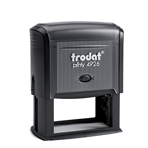"""Trodat 1.5"""" X 3.00"""" Large, Rectangular Self-Inking Address Stamp, Any Ink Color"""