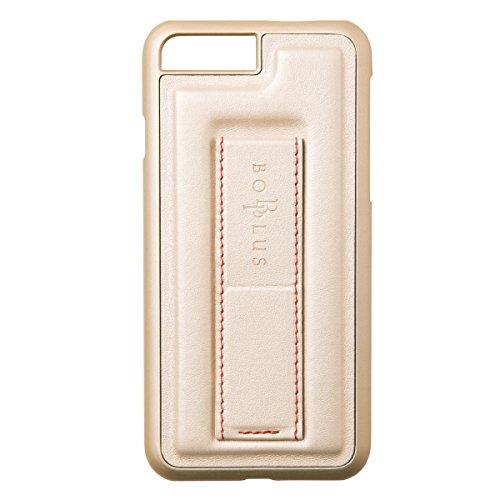 BOB Plus iPhone 8 Plusケース/iPhone 7 Plus ケース STAND & GRIP CASE ゴールド アイフォン カバー 落下防止 ハンドル ホルダー スタンド機能付き 【日本正規代理店品】