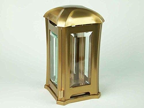designgrab AML5 Grablampe Venezia aus Edelstahl-bronzefarben, Gold, 13 x 13 x 24 cm