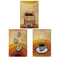 コーヒーポスターレトロ・ティンサイン、ウォールアートサインウォールポスターメタルコーヒー種,1