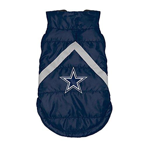NFL Dallas Cowboys Pet Puffer Vest, Large