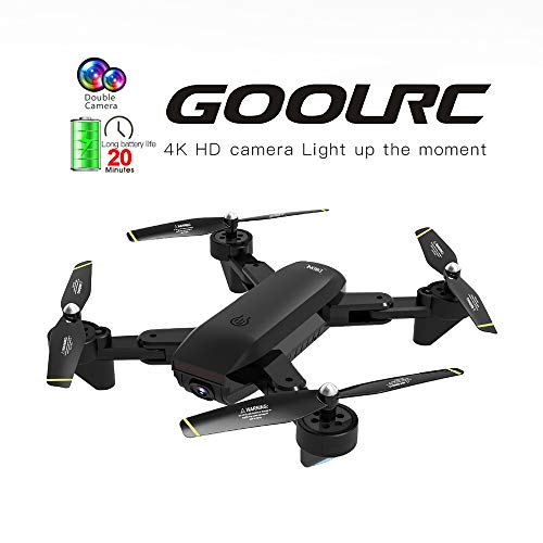 Kedelak SG700-D FPV RC Drone con cámara 4K HD Gran Angular Óptica posicionamiento de Flujo Sígueme Altitude Hold Quadcopter