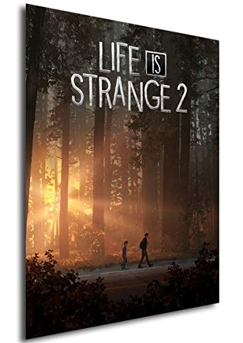 Instabuy Poster Life is Strange 2 - Game Cover - A3 (42x30 cm)