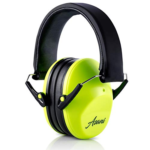 Kids' Noise Cancelling Ear Muffs | 25db Hearing Protection Earmuffs for Children/Toddler | Sound Blocking Over Ear Headphones | Bonus Carry Bag | For Shooting Range, Mowing, Car Race & More