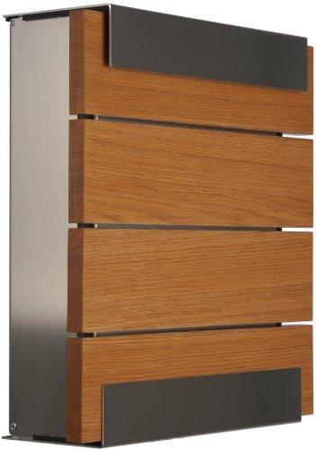 KEILBACH Briefkasten GLASNOST.Wood.Oak Wandbriefkasten Eiche