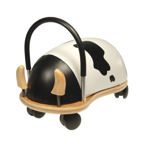 Prince Lionheart Wheely Bug, Cow, Large, Child Ride-On Toy, Multi-Directional Casters, Helps Promote Gross Motor Skills and Balance