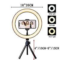 三脚のスタンド写真照明カメラの化粧品写真の授業省YouTube Tiktokリングランプ (Color : Type 4)