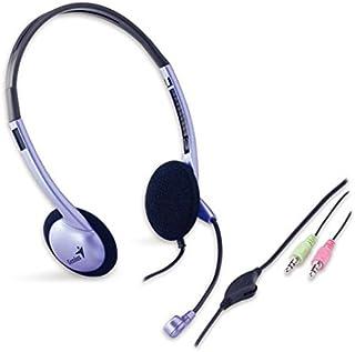 comprar comparacion Genius HS-02B - Auriculares con micrófono y control remoto, gris