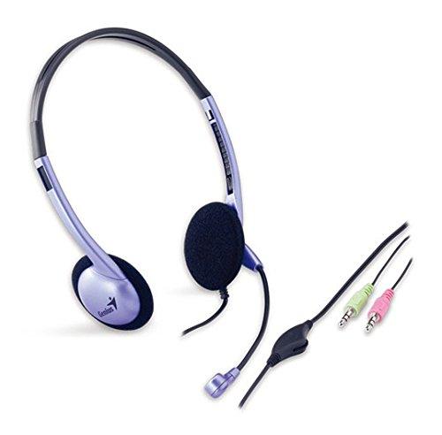 Genius HS-02B Klassik Headband Headset mit Mikrofon
