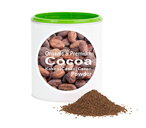 Kakaopulver – Bio Kakao gemahlen | bio organic| 10-12% Fett | good-proteins von good-nutritions| Kakao| ohne zusatzstoffe + viele Inhaltsstoffe| 150 g