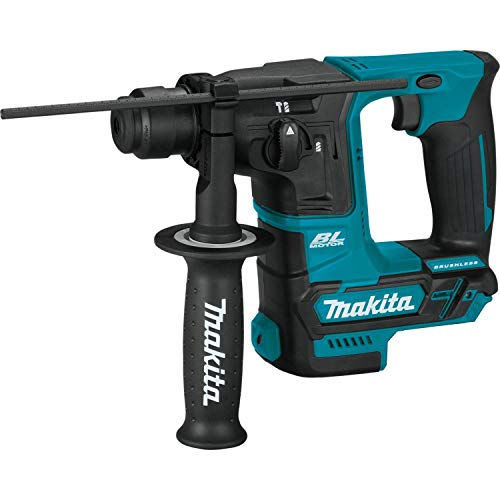 Makita RH01Z 12V max CXT Lithium-Ion Brushless Cordless 5/8' Rotary Hammer Kit (Renewed)