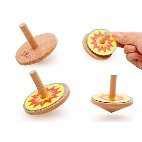 Lowest Prices! Votunu Spinning Tops - Gyroscope Surf Tungsten Brass Circus Emoji Toddler Plastic Tod...