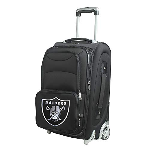 Denco NFL Oakland Raiders 21-inch Carry-On Luggage