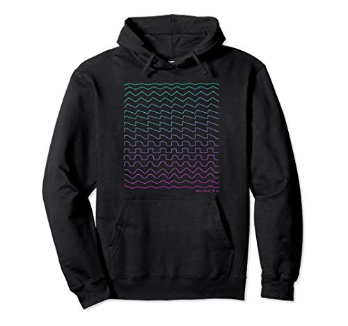 Synthesizer Waveform Pullover Hoodie
