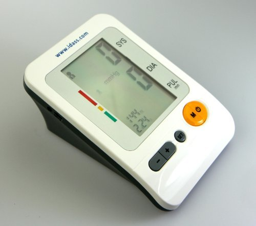 IDASS BP-103H Upper Arm Blood Pressure Monitor by IDASS