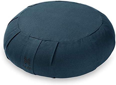 Node Fitness Organic Cotton 15 Round Meditation Cushion Teal product image