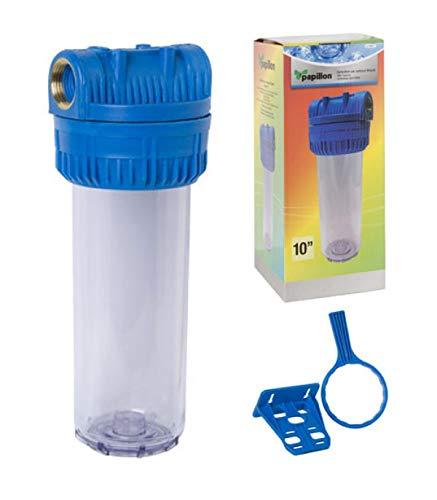 """MAURER 4012000 Filtro Agua Portacartuchos 10"""" Conexion 1"""""""
